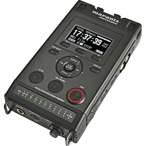 Marantz PMD661 Portable SD Recorder-thumbnail