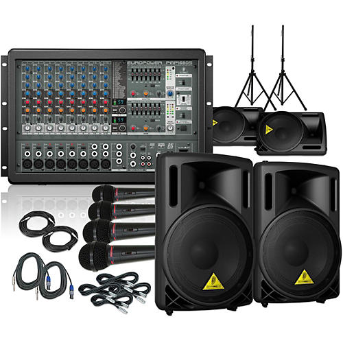 Behringer PMP1680S / B212XL Mains and Monitors PA Package thumbnail