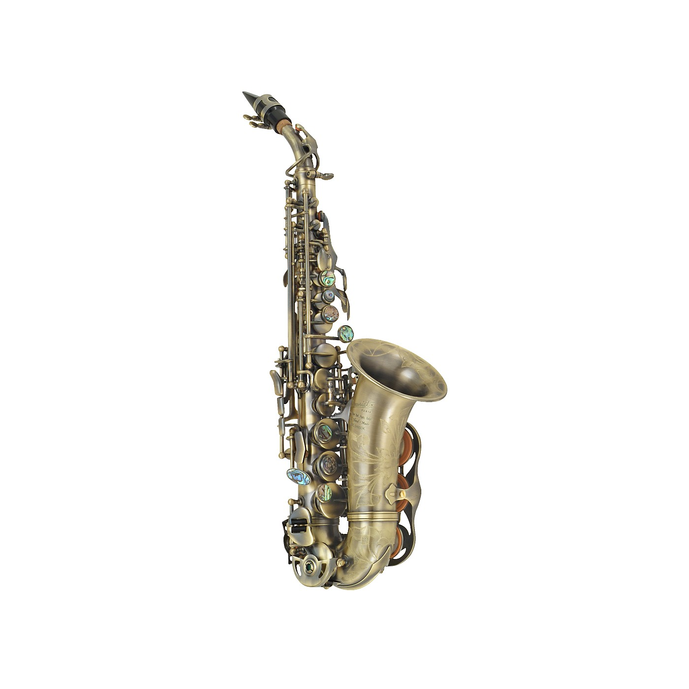 P. Mauriat PMSS-2400 DK Curved Soprano Saxophone thumbnail