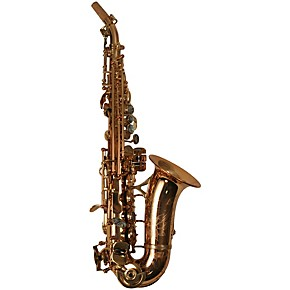 p mauriat gold lacquer pmss 2400 dk curved soprano saxophone woodwind brasswind. Black Bedroom Furniture Sets. Home Design Ideas