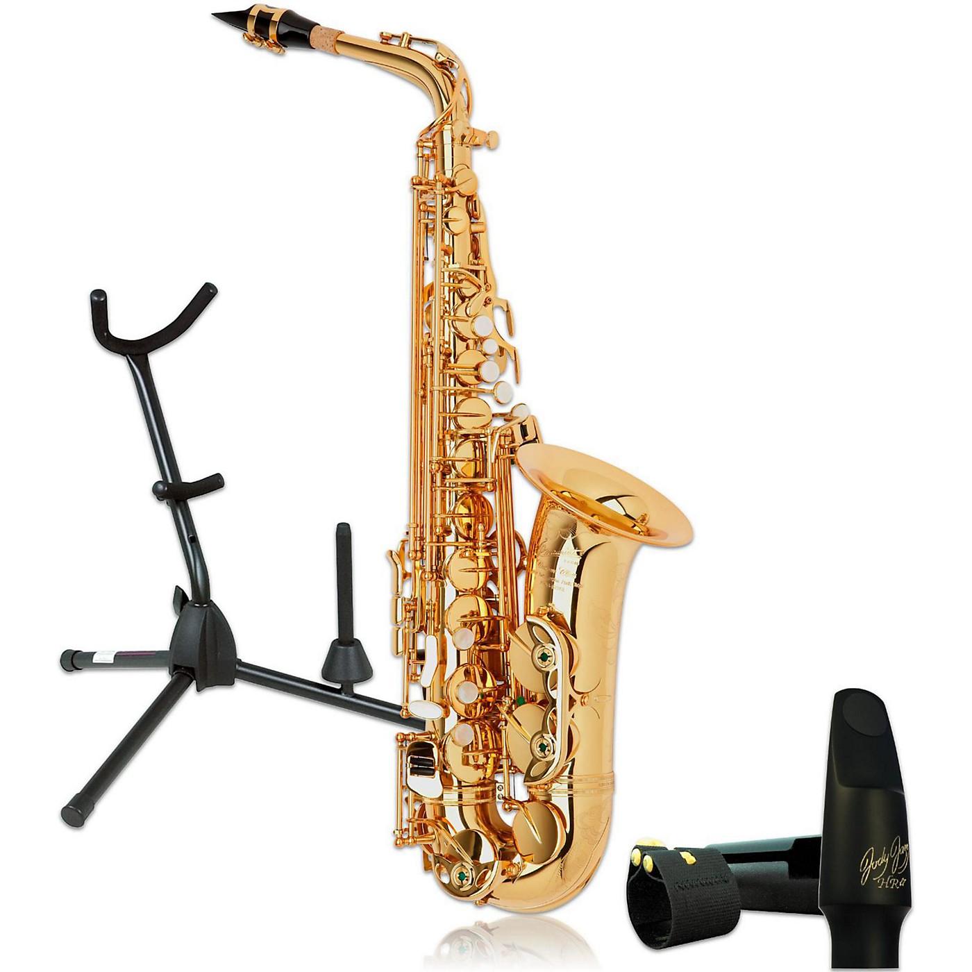 P. Mauriat PMXA-67RGL Professional Gold Lacquered Alto Saxophone Kit thumbnail