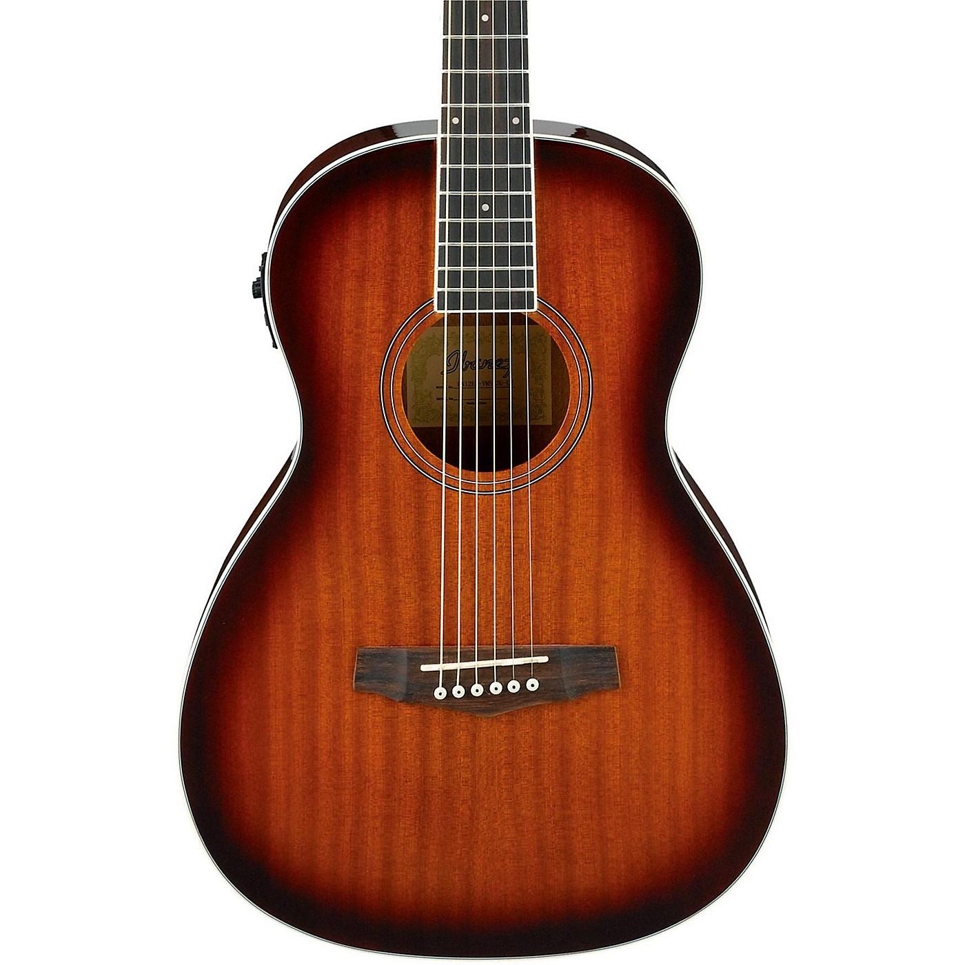 Ibanez PN12E Mahogany Parlor Acoustic-Electric Guitar thumbnail