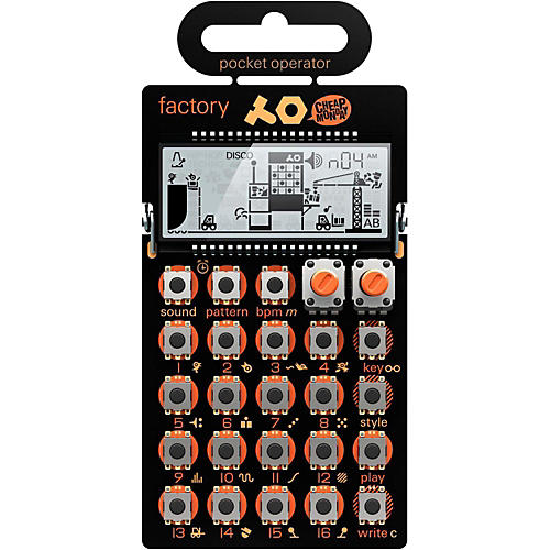 Teenage Engineering PO-16 Factory Pocket Operator thumbnail