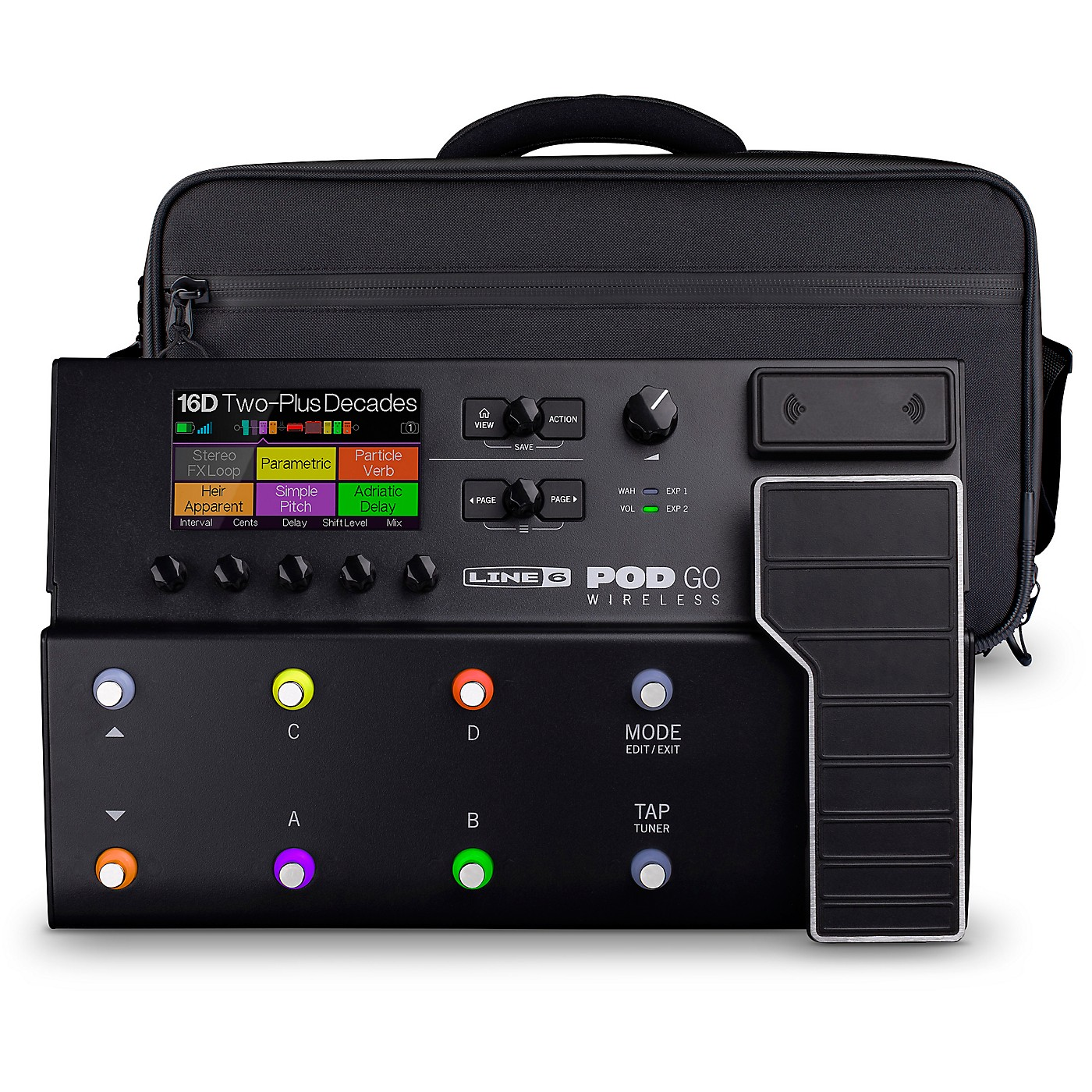 Line 6 POD Go Wireless Guitar Multi-Effects Processor with Shoulder Bag thumbnail