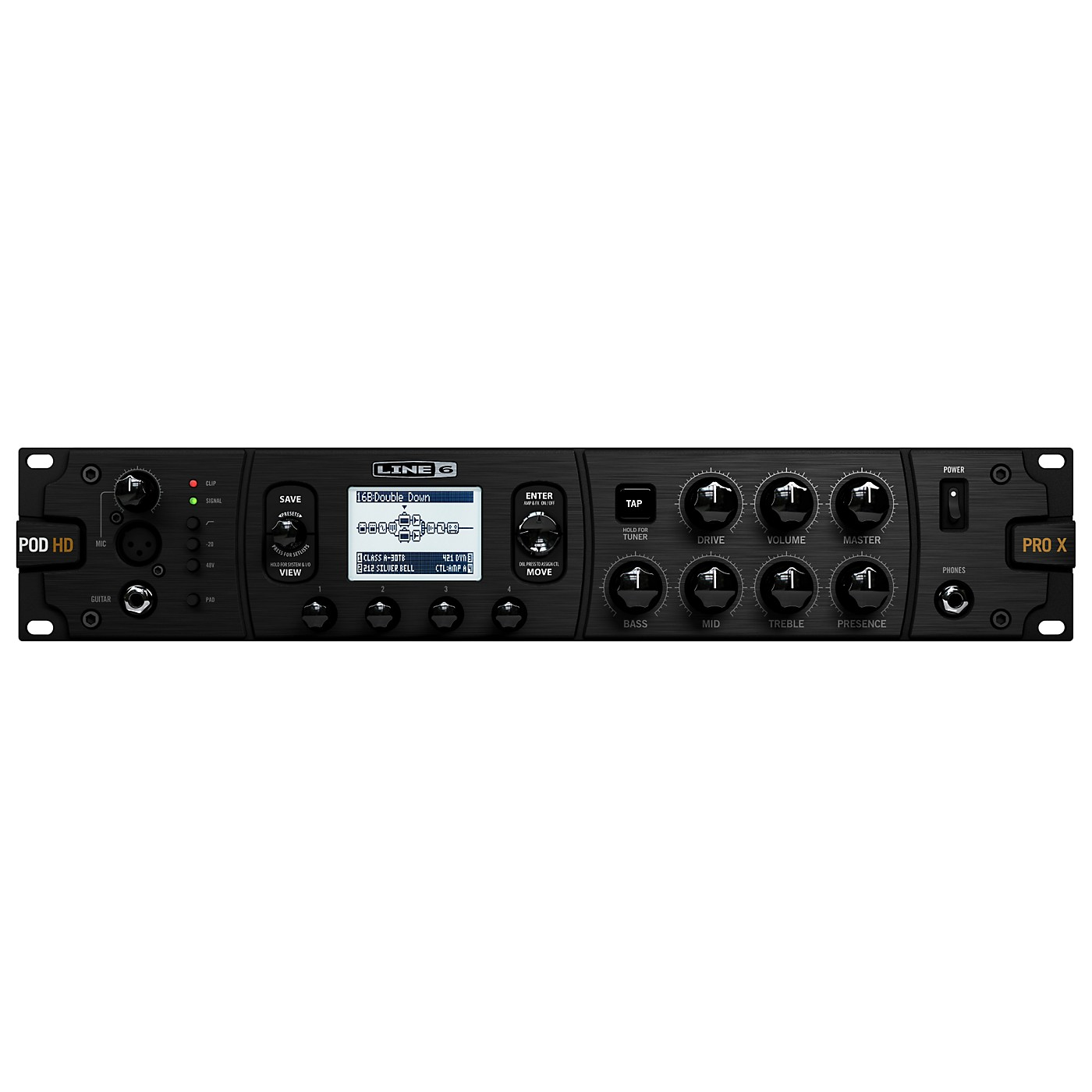 Line 6 POD HD Pro X Guitar Multi-Effects Processor thumbnail