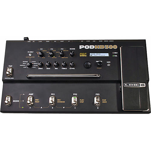 Line 6 POD HD300 Guitar Multi-Effects Processor-thumbnail