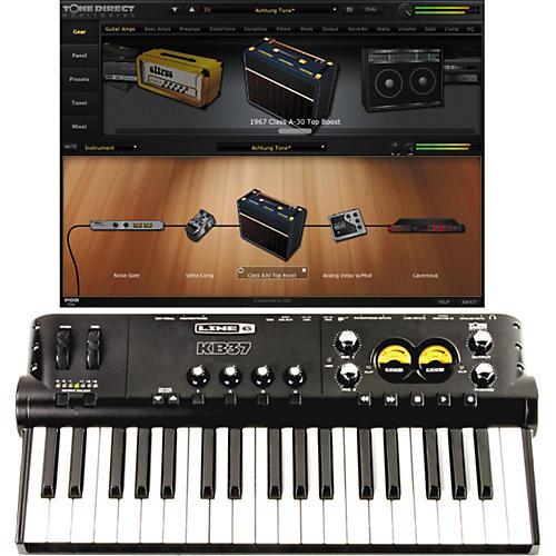 Line 6 POD Studio KB37 USB Audio Interface with POD Farm Plug-in-thumbnail