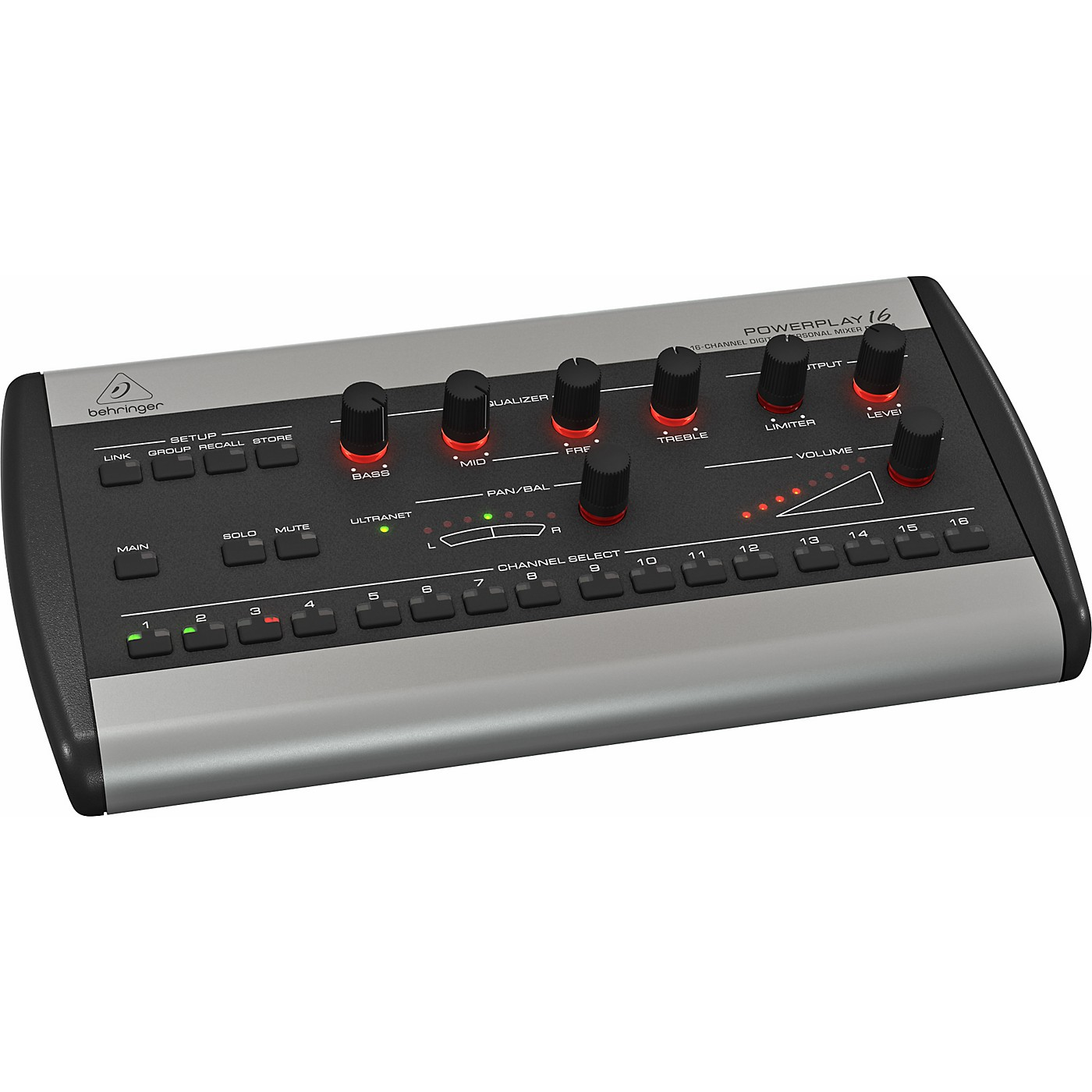 Behringer POWERPLAY P16-M 16-Channel Digital Personal Mixer thumbnail