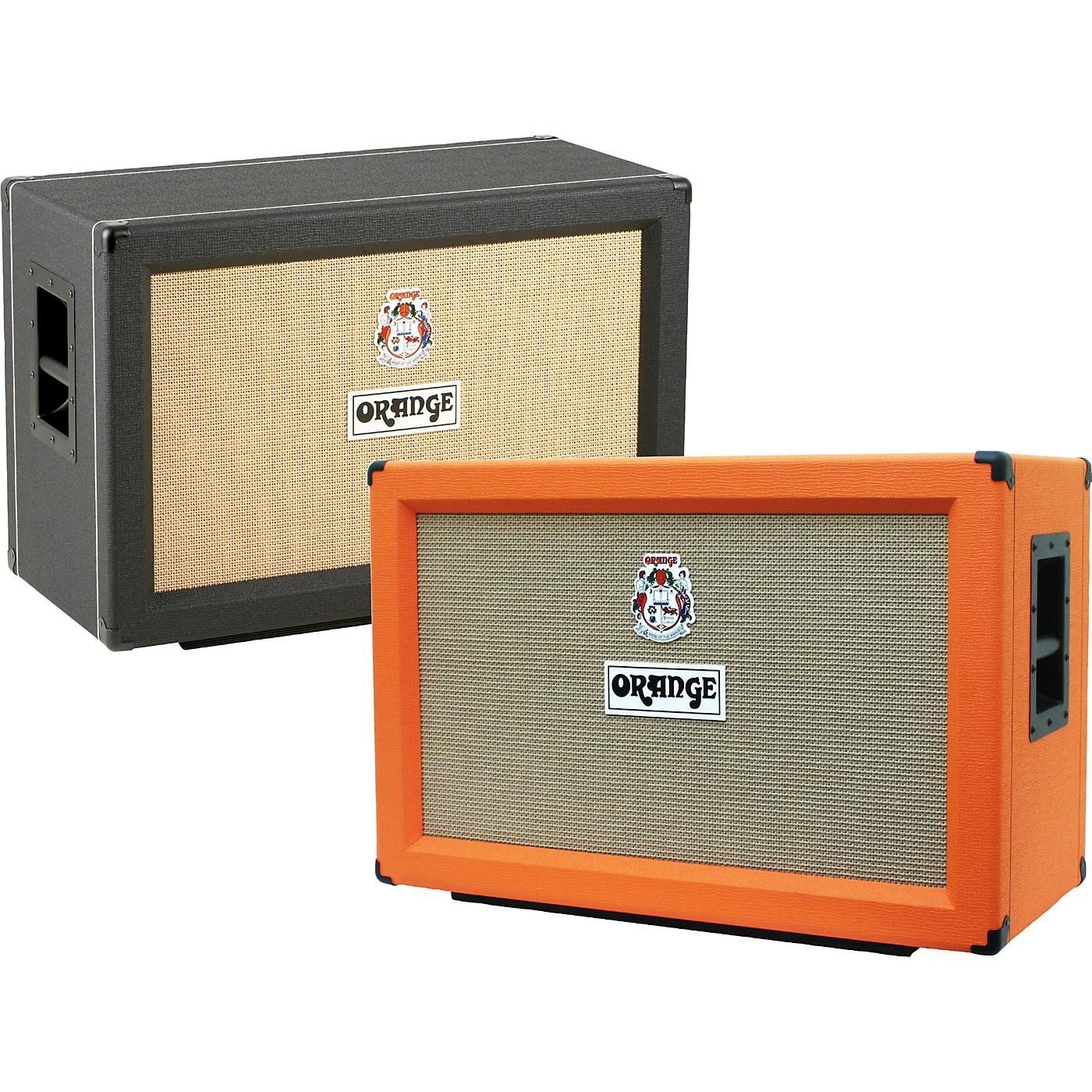 Orange Amplifiers PPC Series PPC212-C 120W 2x12 Closed Back Guitar Speaker Cabinet thumbnail