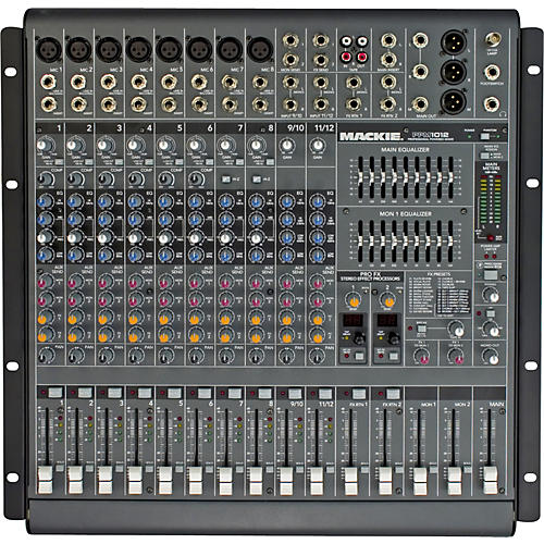 Mackie PPM1012 12-Channel 1600W Powered Mixer-thumbnail