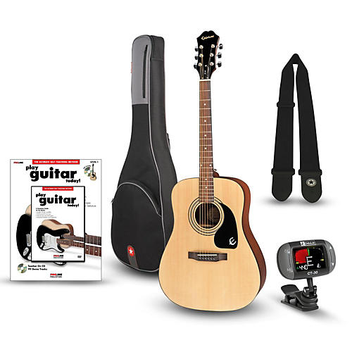 Epiphone PR-150 Acoustic Guitar Bundle thumbnail