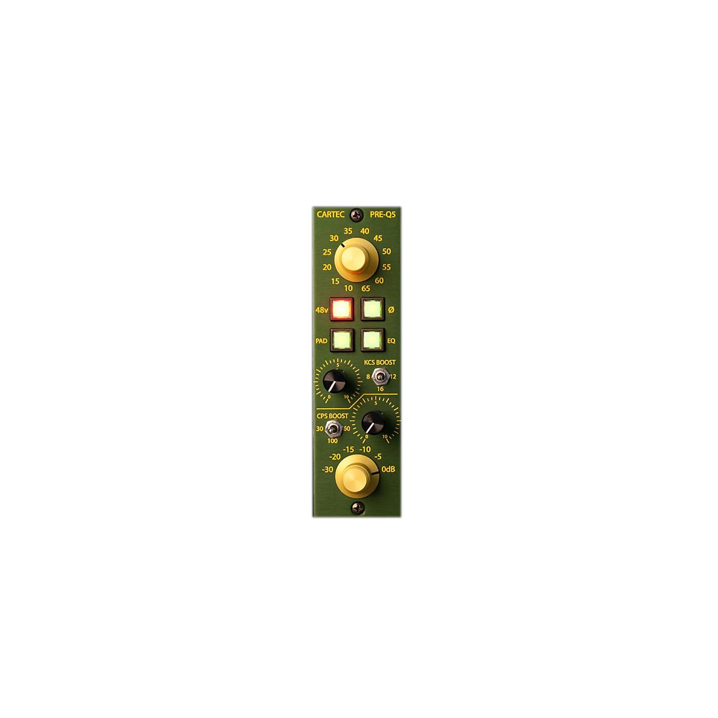 CARTEC Audio PRE-Q5 API 500 Series Mic Preamp thumbnail
