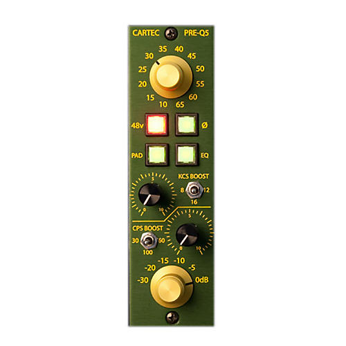 CARTEC Audio PRE-Q5 API 500 Series Mic Preamp-thumbnail
