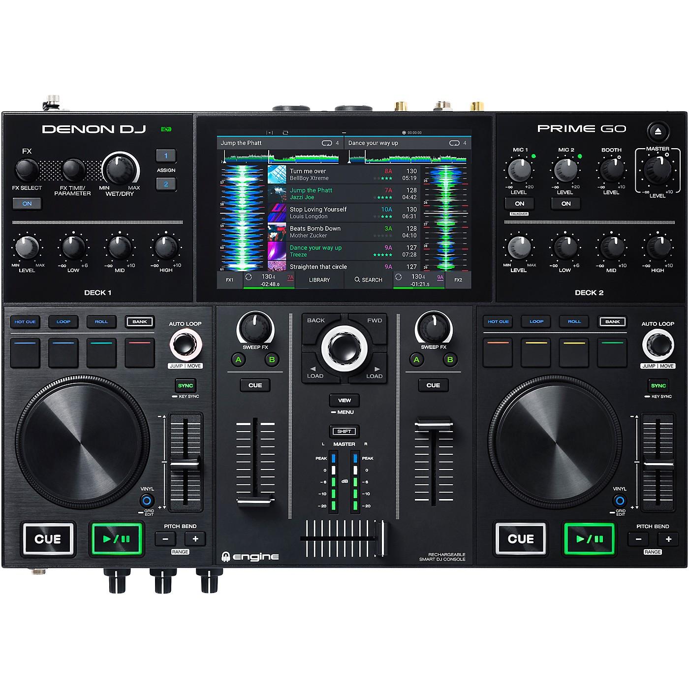 Denon DJ PRIME GO Rechargeable 2-Channel Standalone DJ Controller thumbnail