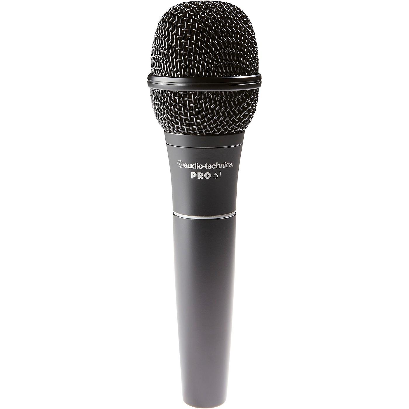 Audio-Technica PRO 61 Hypercardioid Dynamic Microphone thumbnail