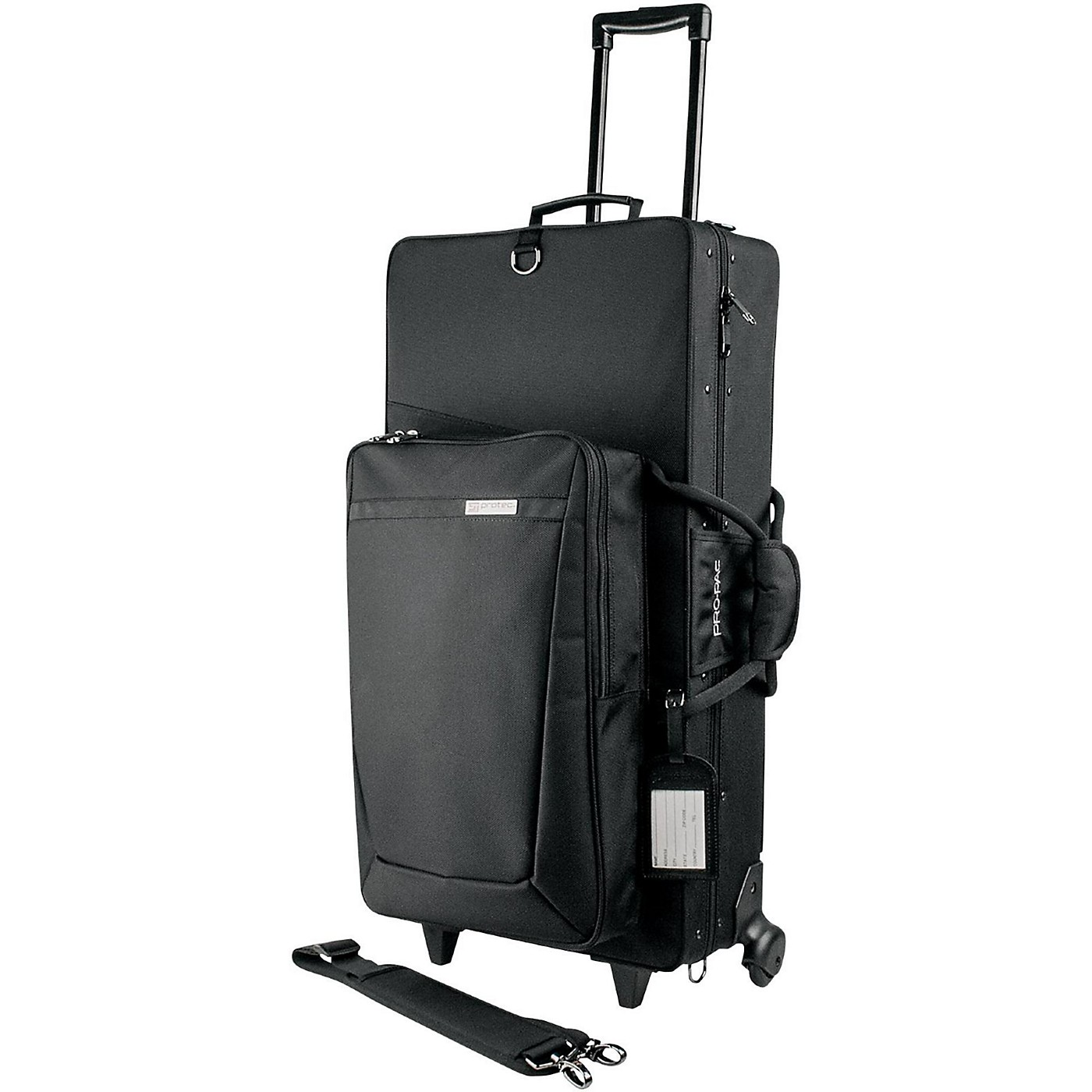 Protec PRO PAC Alto and Straight Soprano Saxophone Case with Wheels thumbnail