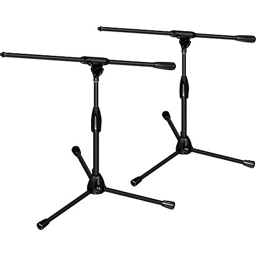 Ultimate Support PRO-T-SHORT-F Package - tripod base/fixed boom, short height 2-Pack-thumbnail