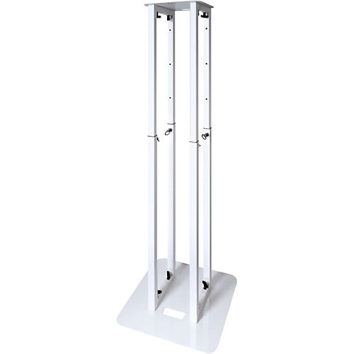 Novopro PS1 XXL Adjustable Podium Stand, White thumbnail