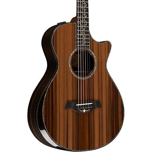 taylor ps12ce 12 fret grand concert acoustic electric guitar woodwind brasswind. Black Bedroom Furniture Sets. Home Design Ideas