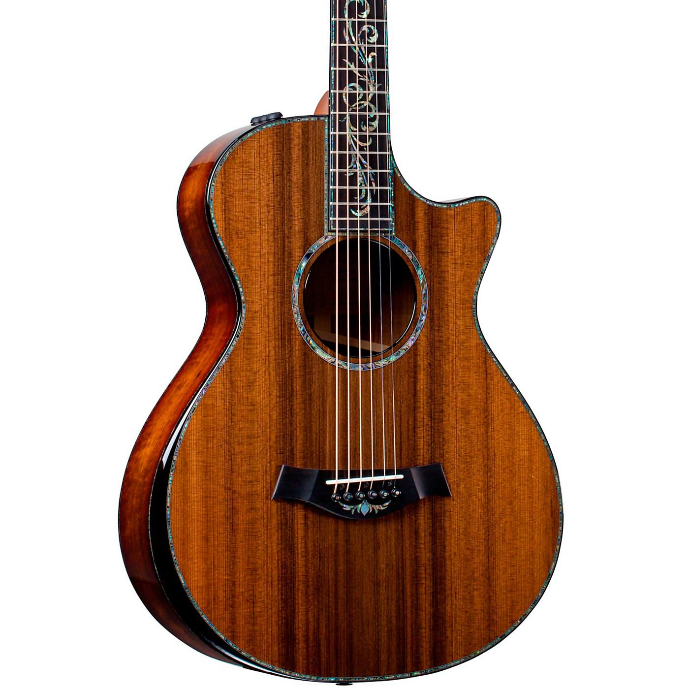Taylor PS12ce V-Class 12-Fret Grand Concert Acoustic-Electric Guitar thumbnail