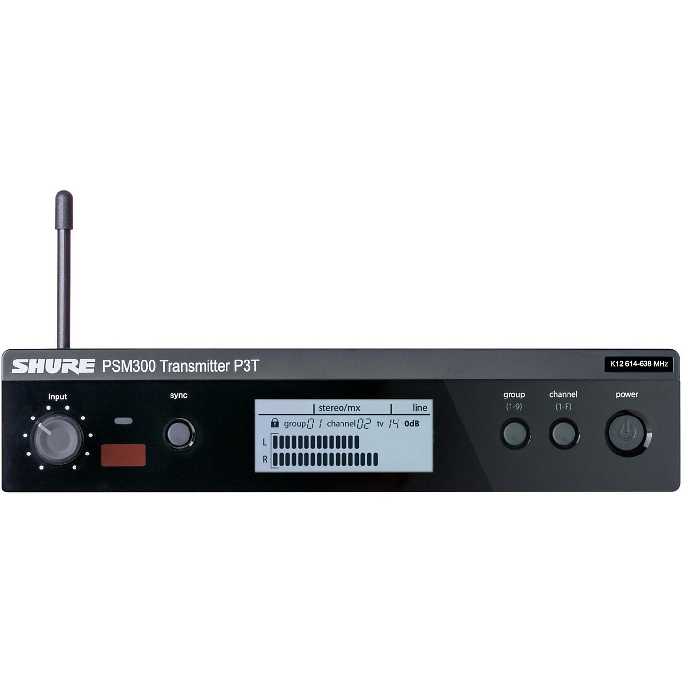 Shure PSM 300 Wireless Transmitter P3T thumbnail