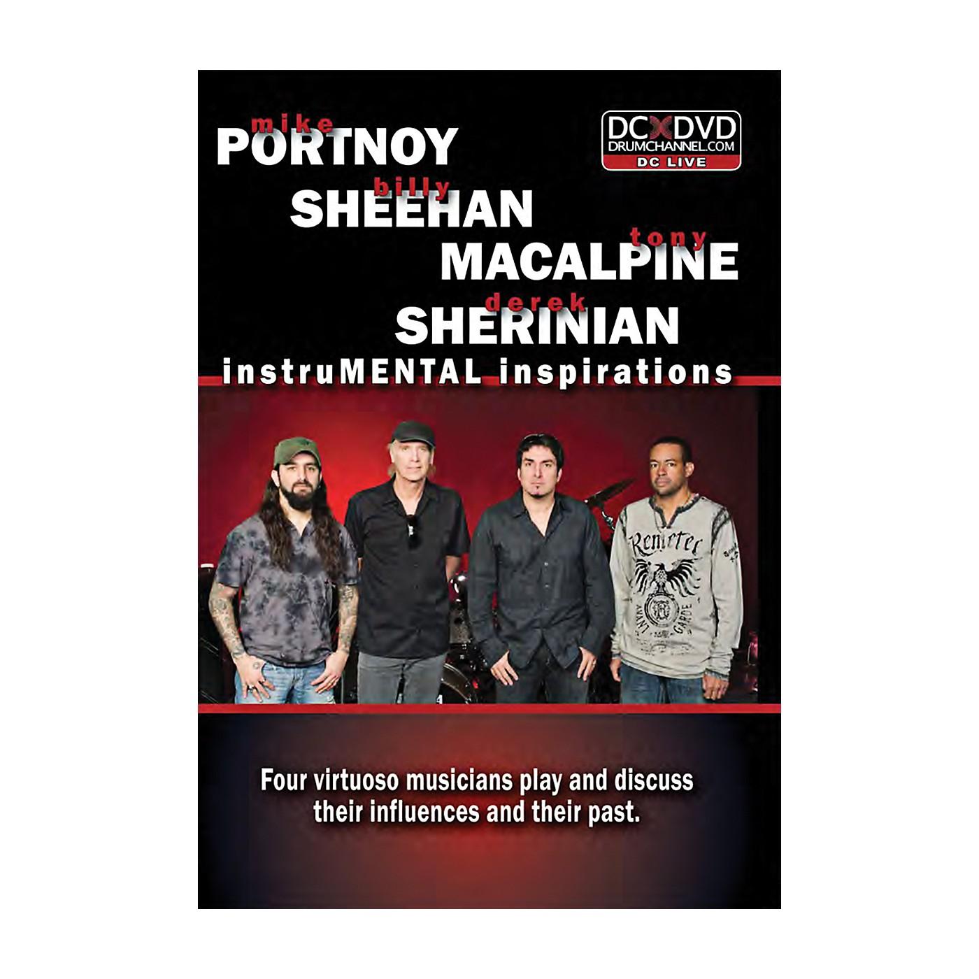 The Drum Channel PSMS Portnoy, Sheehan, MacAlpine & Sherinian:  InstruMENTAL Inspirations Drum DVD thumbnail