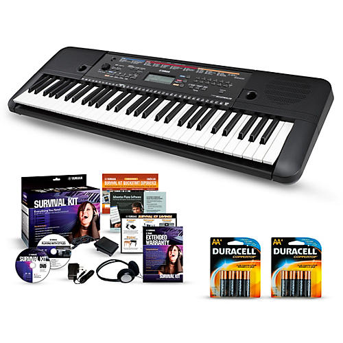Yamaha PSR-E263 61-Key Portable Keyboard Packages thumbnail