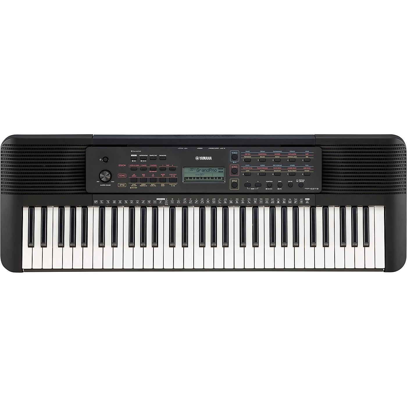 Yamaha PSR-E273 61-Key Portable Keyboard thumbnail