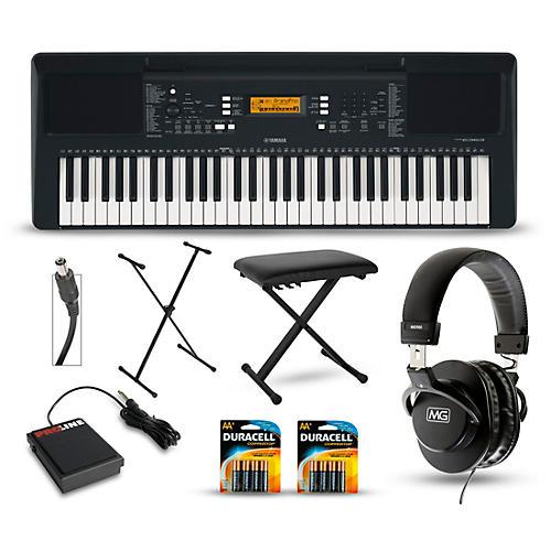 Yamaha PSR-E363 61-Key Portable Keyboard Packages thumbnail