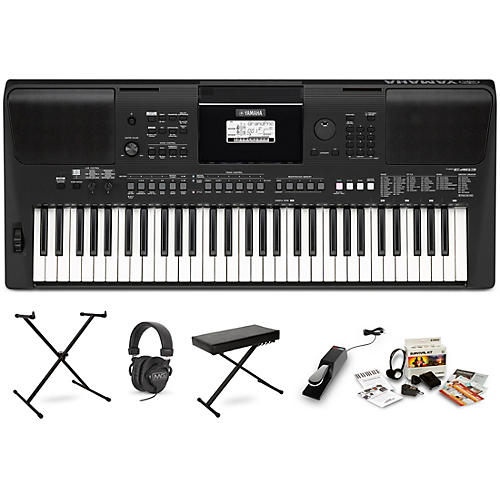 Yamaha PSR-E463 Digital Piano Package With Stand and Bench thumbnail
