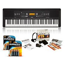 Yamaha PSR-EW300 76-Key Portable Keyboard Package
