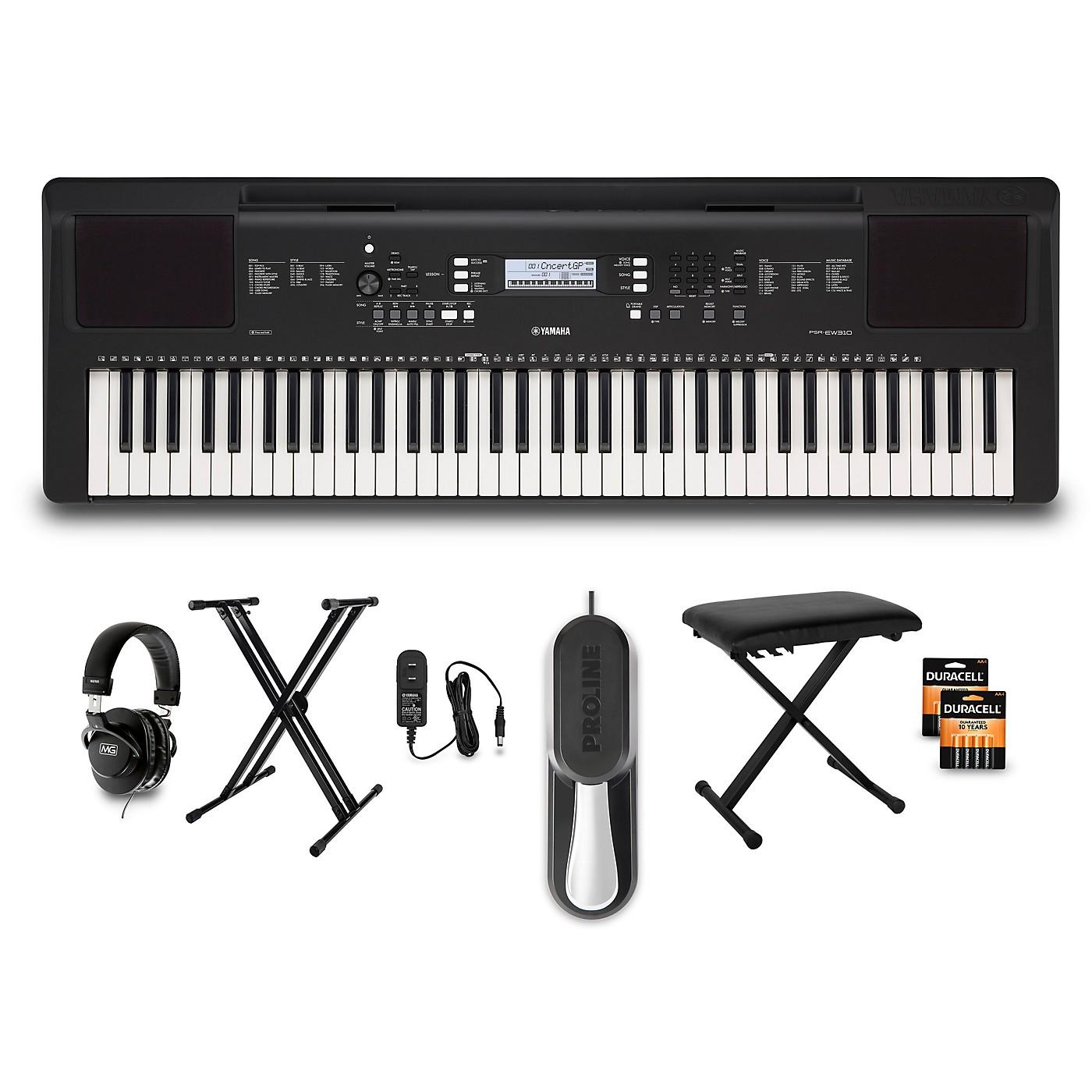 Yamaha PSR-EW310 76-Key Keyboard Package thumbnail