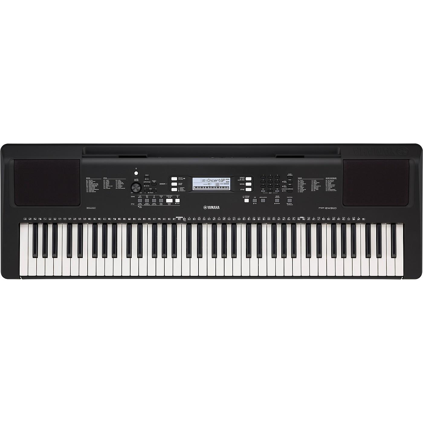 Yamaha PSR-EW310 76-Key Portable Keyboard thumbnail