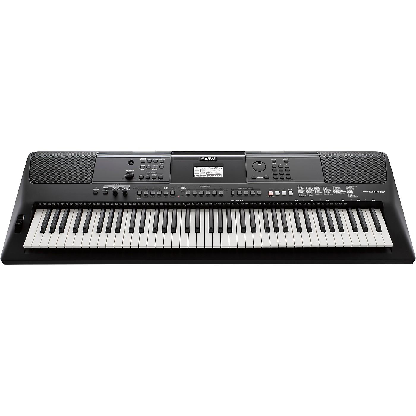 Yamaha PSR-EW410 76-Key Portable Keyboard thumbnail