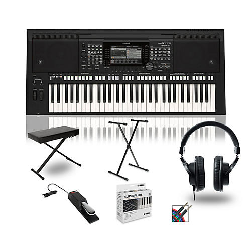 Yamaha PSR-S775 Digital Piano Package With Stand and Bench thumbnail
