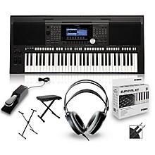 Yamaha PSR-S970 Arranger Keyboard Package