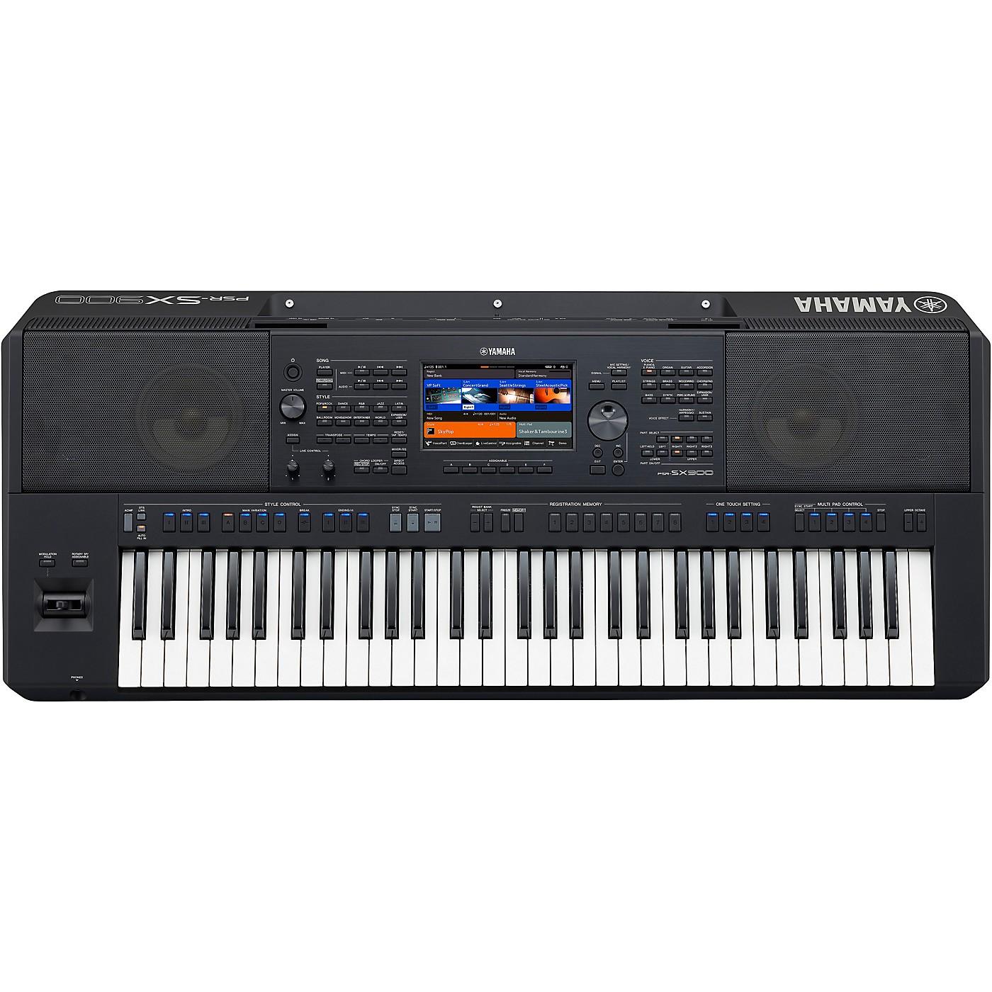 Yamaha PSR-SX900 61-Key High-Level Arranger Keyboard thumbnail