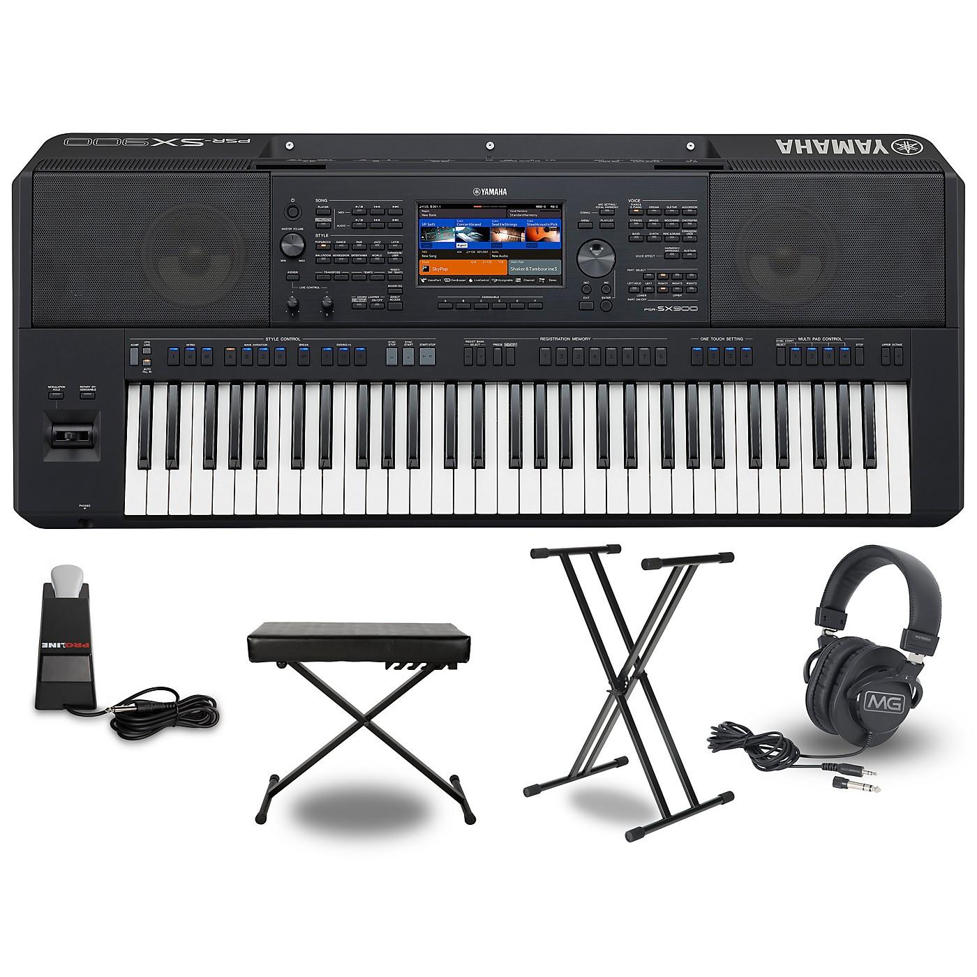 Yamaha PSR-SX900 Keyboard Package thumbnail