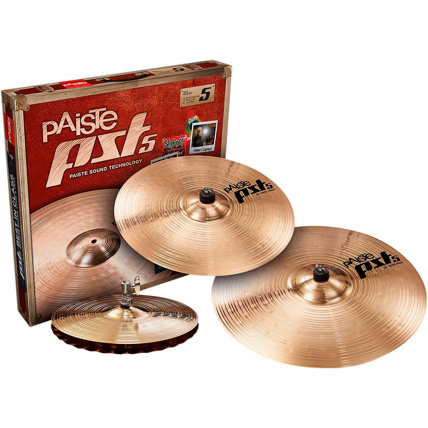 Paiste PST 5 Rock Set thumbnail