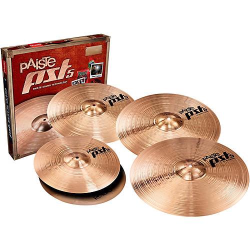 Paiste PST5 Universal Cymbal Set with FREE 16