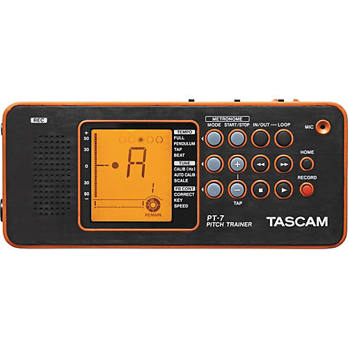 Tascam PT-7 Pitch Trainer for Wind and String Instruments-thumbnail