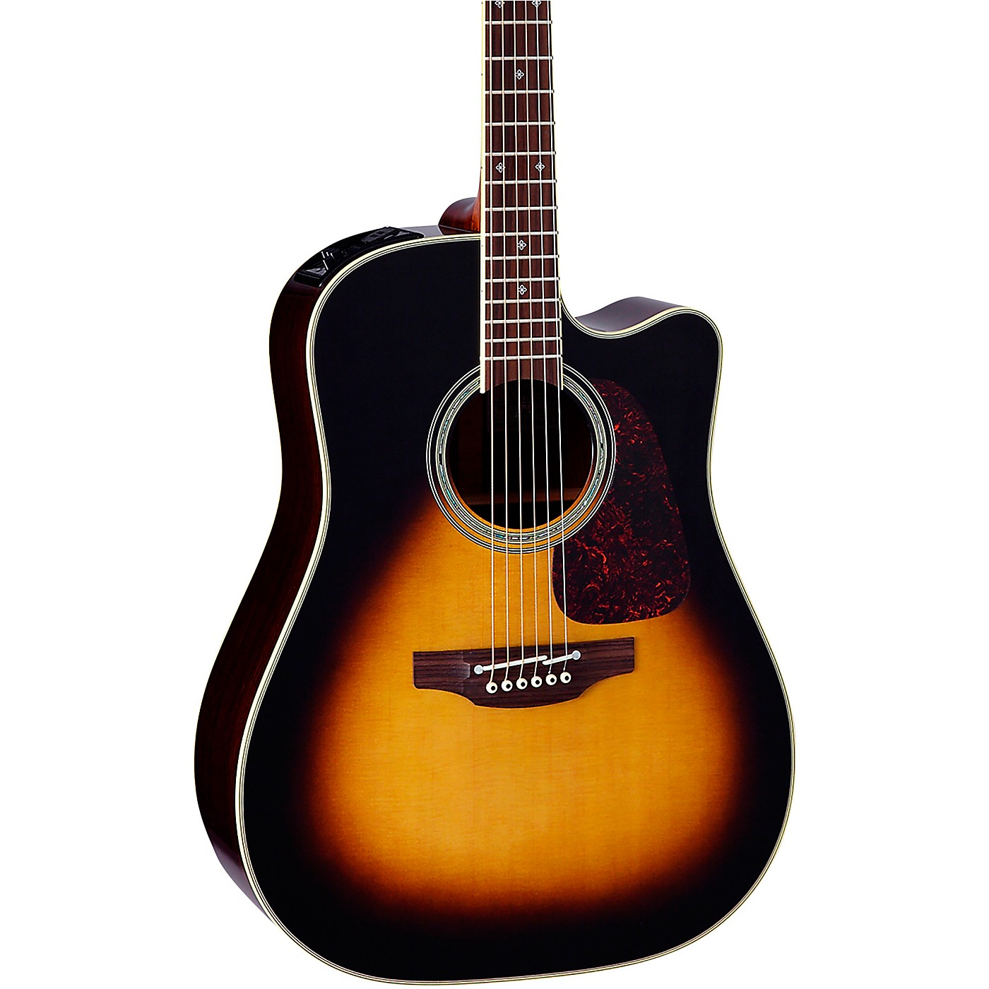 Takamine PTU241C Dreadnought Acoustic-Electric Guitar thumbnail