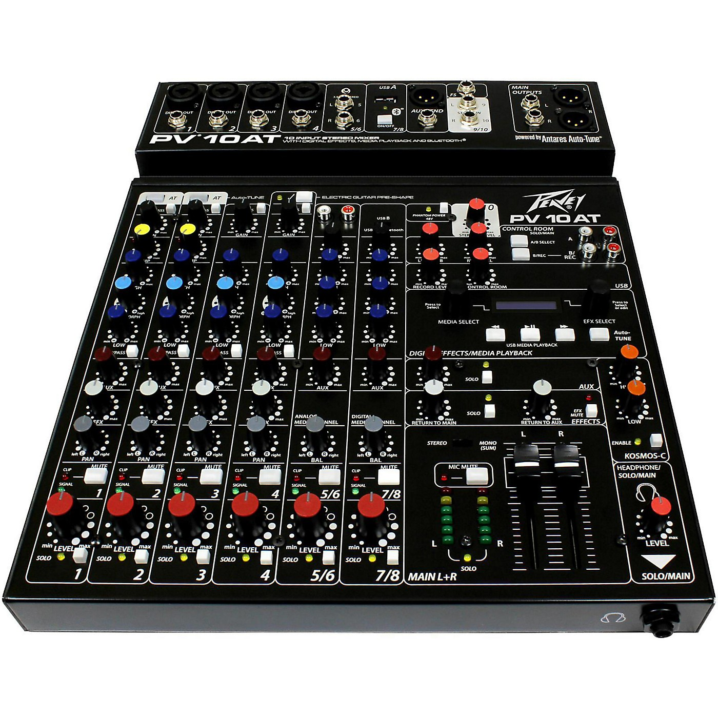 Peavey PV 10 AT Mixer with Autotune thumbnail