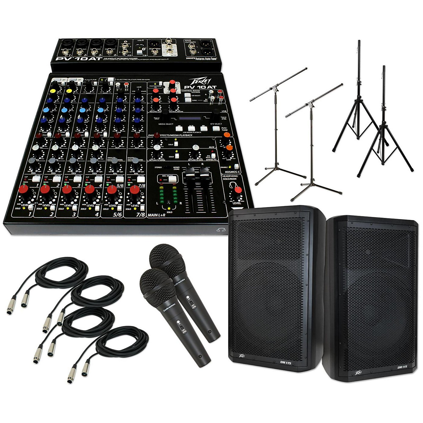 Peavey PV 10 AT with DM 115 PA Package thumbnail