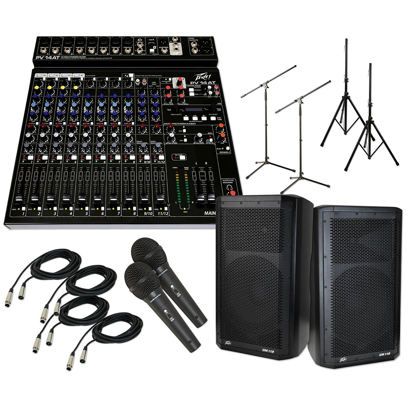 Peavey PV 14 AT with DM 112 PA Package thumbnail
