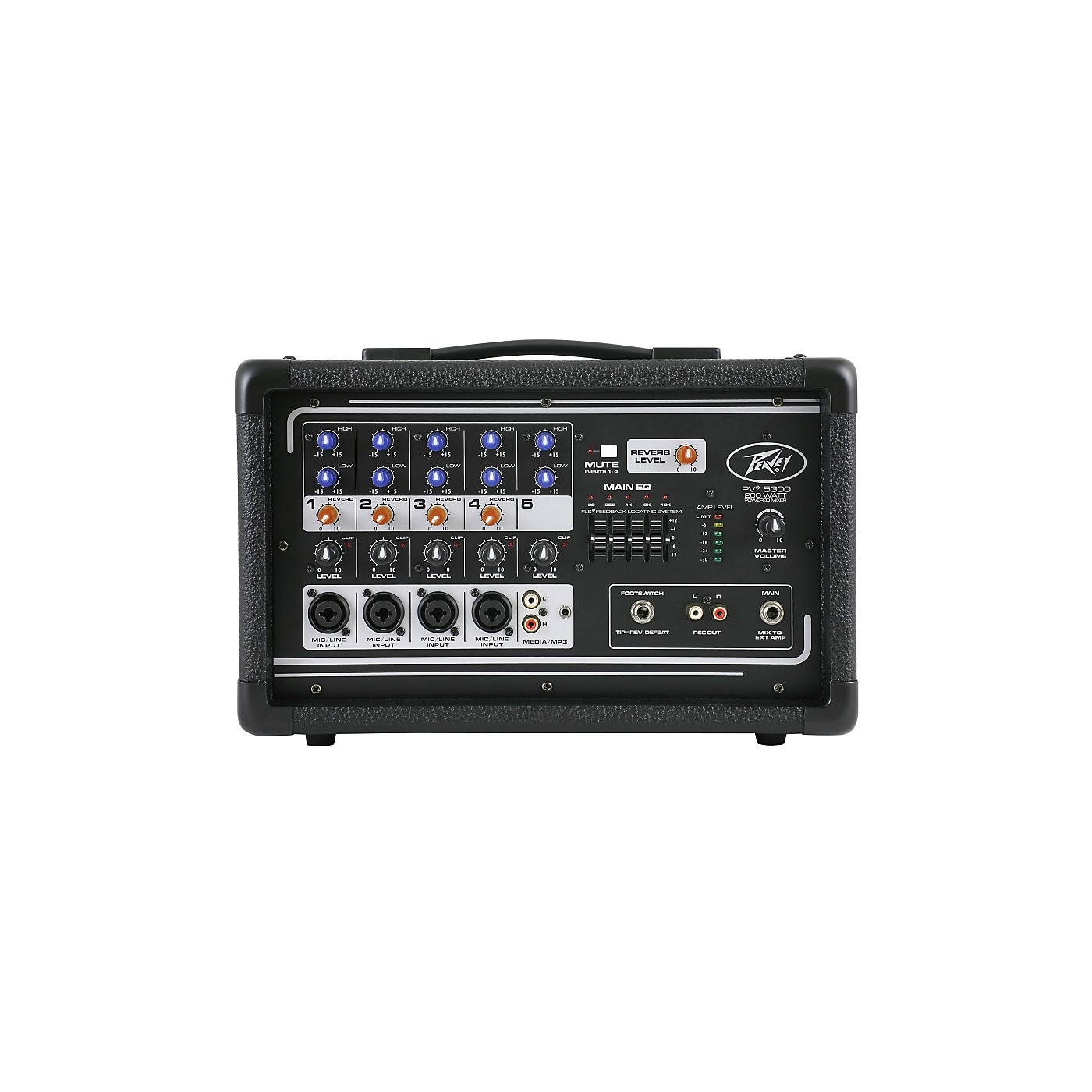 Peavey PV 5300 5-Channel Powered Mixer thumbnail