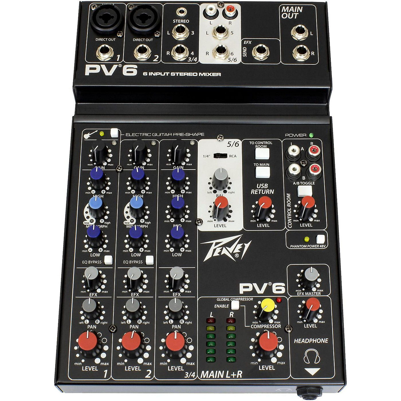 Peavey PV 6 Mixer thumbnail