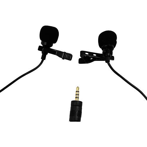 BK Media PV550-C Dual-Head Lavalier Microphone thumbnail