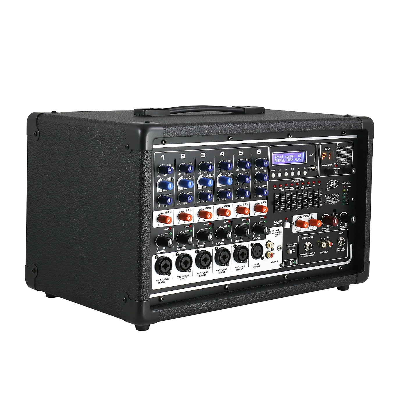 Peavey PVi 6500 6-Channel 400W Powered PA Head with Bluetooth and FX thumbnail