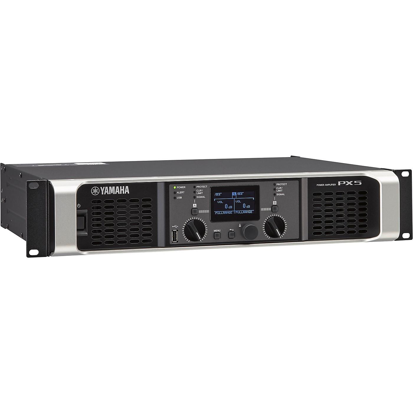 Yamaha PX5 Power Amplifier thumbnail